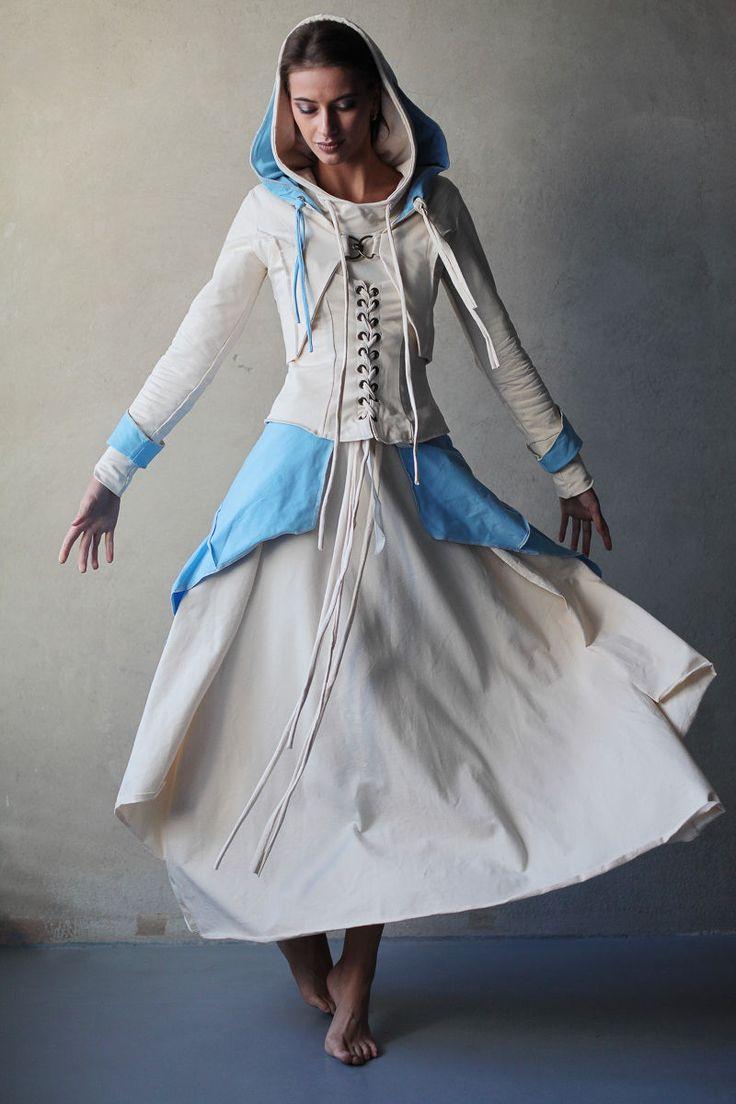 """Купить Сэт из 3-х вещей """"Белоснежное чудо"""" - белый, белый костюм, необычный"""