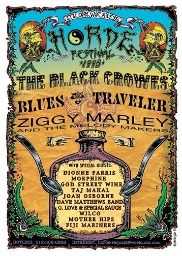 The Black Crowes Hazy! - Black Crowes Unplugged: Black Acid Delivery Hits London