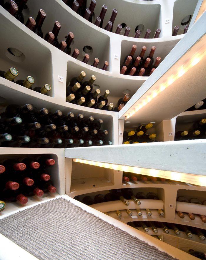 Underground Spiral Wine Cellar | Spiral Cellars Ltd. Smart interior design! Read more at jebiga.com