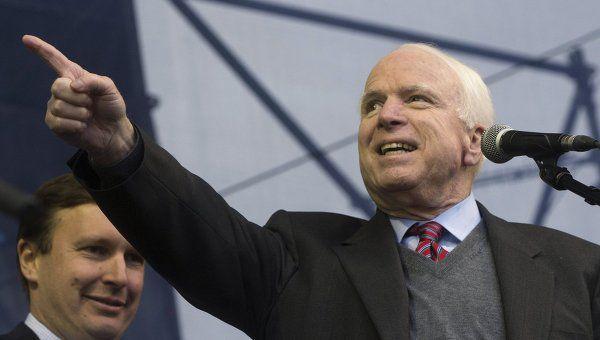 Джон Маккейн: Мы должны уделять больше внимания Арктике. Американский сенатор Джон Маккейн заявил в ходе слушаний по кандидатуре генерала Марка Милли на пост начальника штаба Сухопутных войск США в комитете по делам вооруженных сил, что Вашингтону необходимо �