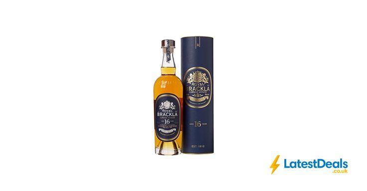 Royal Brackla 16 Year Old Single Malt Scotch Whisky 70 Cl, £48.99 at Amazon UK