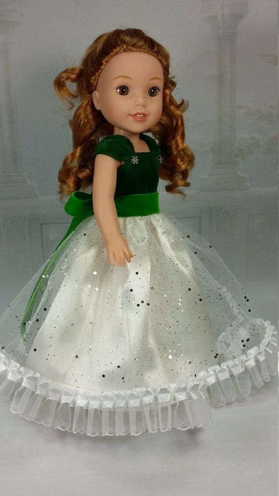 RESERVED FOR asugirl87 Wellie Wisher Beautiful Fancy Holiday Ball Gown,