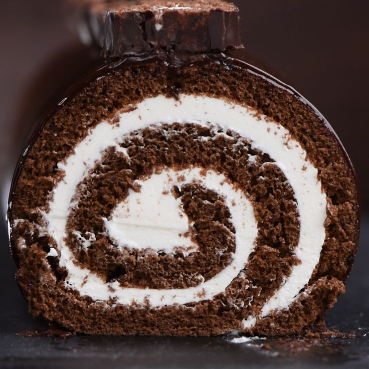 Giant Hostess Swiss Roll Cake a.k.a.: HoHo Cake!