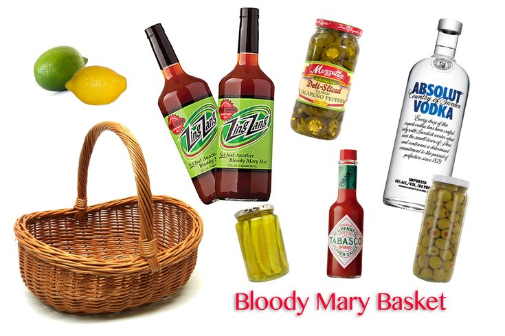 bloody mary gift basket ideas - Google Search