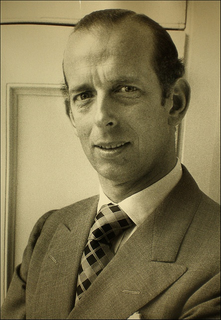 Prince Edward George Nicholas Paul Patrick of Great Britain,Duke of Kent 9 October 1935-*.Son of Prince George Edward Alexander Edmund of Great Britain,Duke of Kent (1902-1942) & Princess Marina of Greece and Denmark (1906-1968).Married Katherine Lucy Mary Worsley (1933-*) on 8 June 1961.Issues:George(1962-*).Helen (1964-*).Nicholas (1970-*).