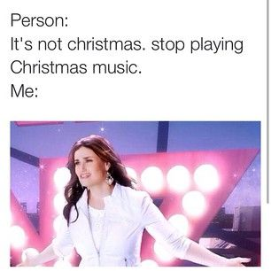 Someone questions your decision to listen to Christmas music and the gauntlet is officially thrown. | 21 Signs You're Addicted To Christmas Music