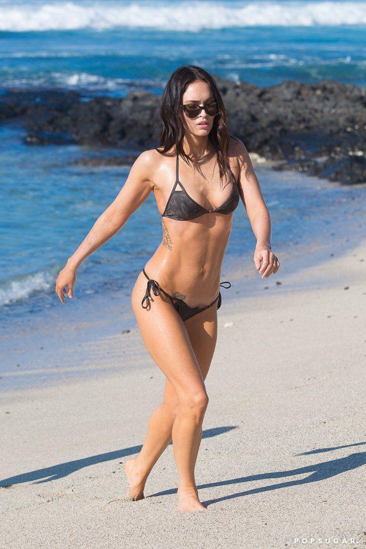 Pin for Later: 65 Sexy Stars in Bikinis! Megan Fox