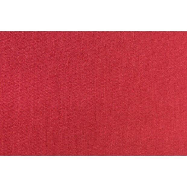 Homespun - Plain-Red