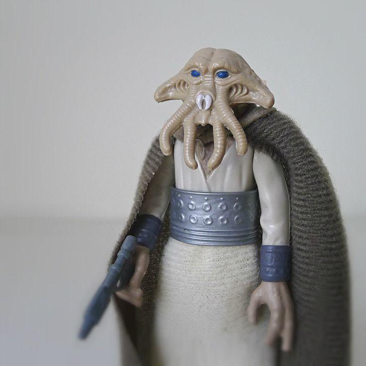 Star Wars Figure, Squid Head, 1983 Kenner