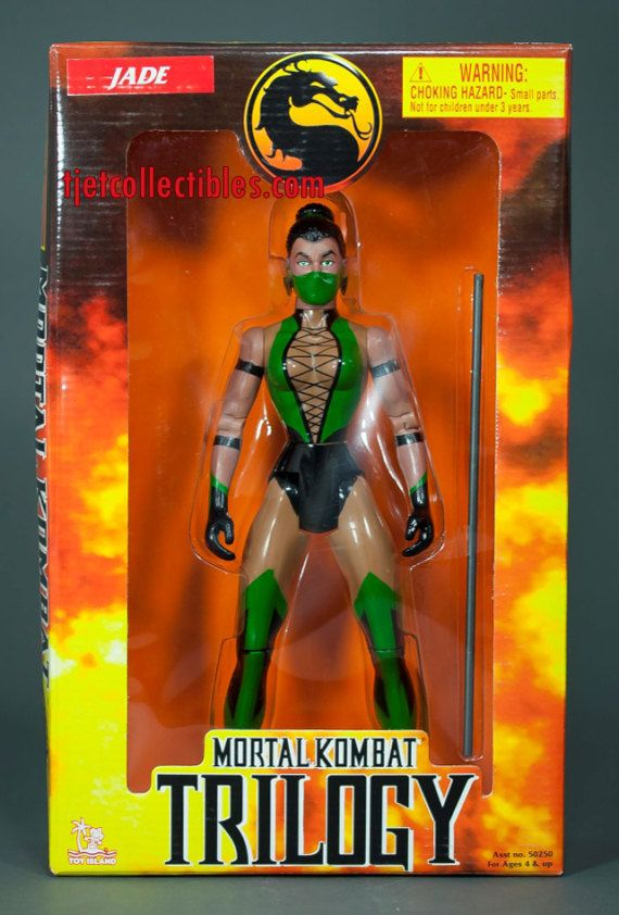 Mortal Kombat Trilogy Jade 10 Action Figure by tjetcollectibles
