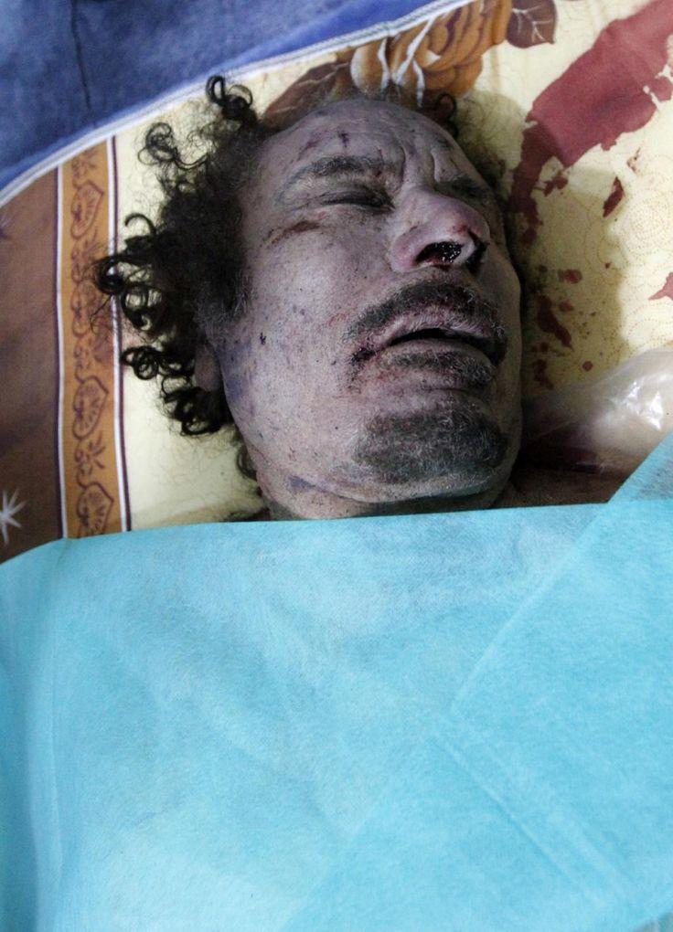 Muammar Gadhafi --- http://s1.ibtimes.com/sites/www.ibtimes.com/files/styles/picture_this/public/2011/10/21/177108-muammar-gaddafi-killed-dead-body-photos-relea...