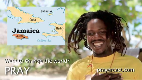 Pray for Jamaica with this short video: http://www.prayercast.com/jamaica.html • Pray for repentance and deeper commitment from the predominantly Christian population.   • Pray for professing Rastafarians to come to a full knowledge of Jesus Christ.   • Pray for effective cooperation among the many Christian organizations already established in country. http://www.operationworld.org/jama