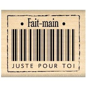 Florilèges - Tampon Bois - Fait main pour toi
