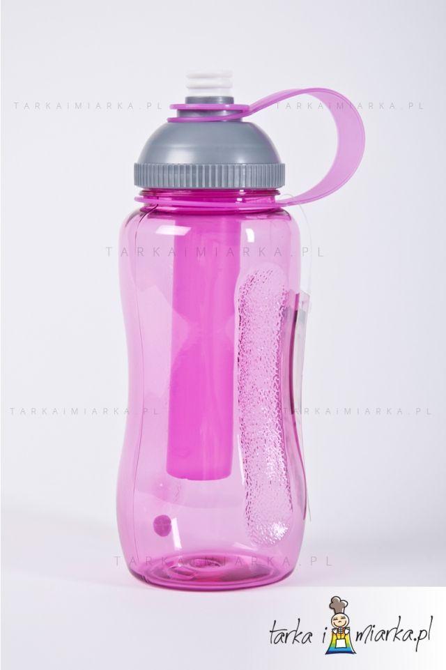 Bidon/butelka Fresh, różowa, Sagaform
