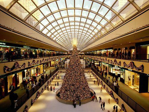 THE GALLERIA MALL HOUSTON TX: Christmas Time, Saint Laurent, Sak Fifth Avenu, Shops Mall, Holidays, Ice Skating, Places, Houston Texas, Christmas Trees