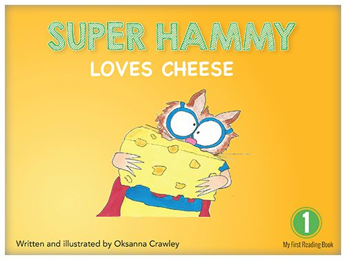 Super Hammy has a show-and-tell with different kinds of cheese. See which one is his favourite.
