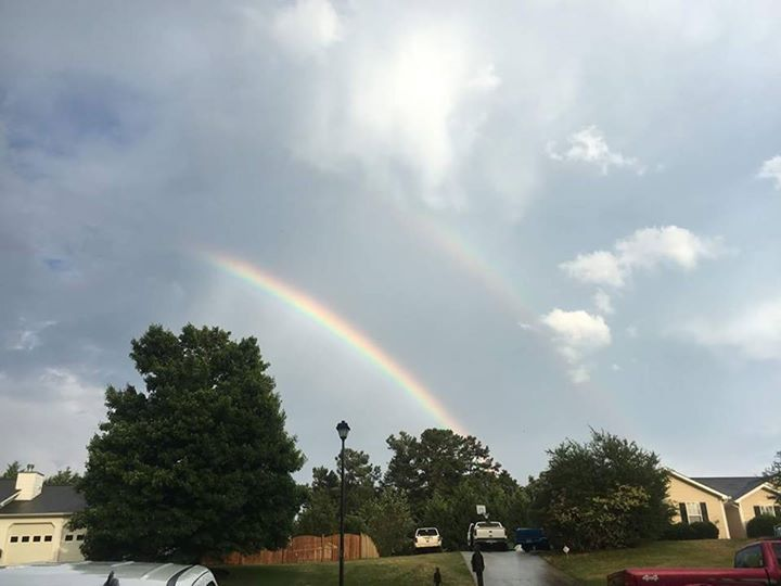 Thank you for sharing your Hall County GA Rainbow pictures!