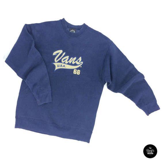 Vintage 90s Vans USA Sweatshirt Vintage Vans Sweater