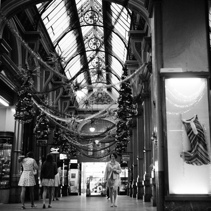 The Block Arcade, Melbourne. Circa 1969.