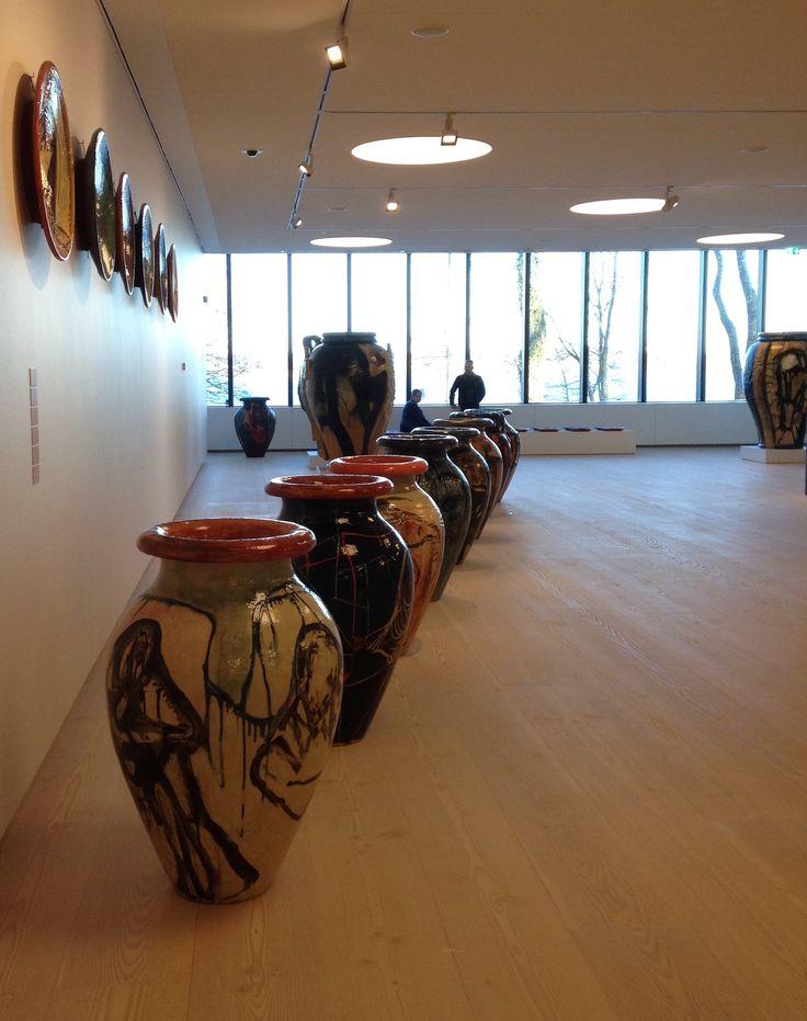 CLAY Keramikmuseum Danmark in Middelfart - Brandes & Bindesbøll.