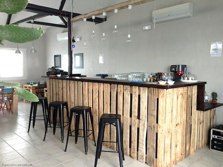 Meer dan 1000 idee n over meuble en palette op pinterest palleten meubels - Faire un bar en palette ...