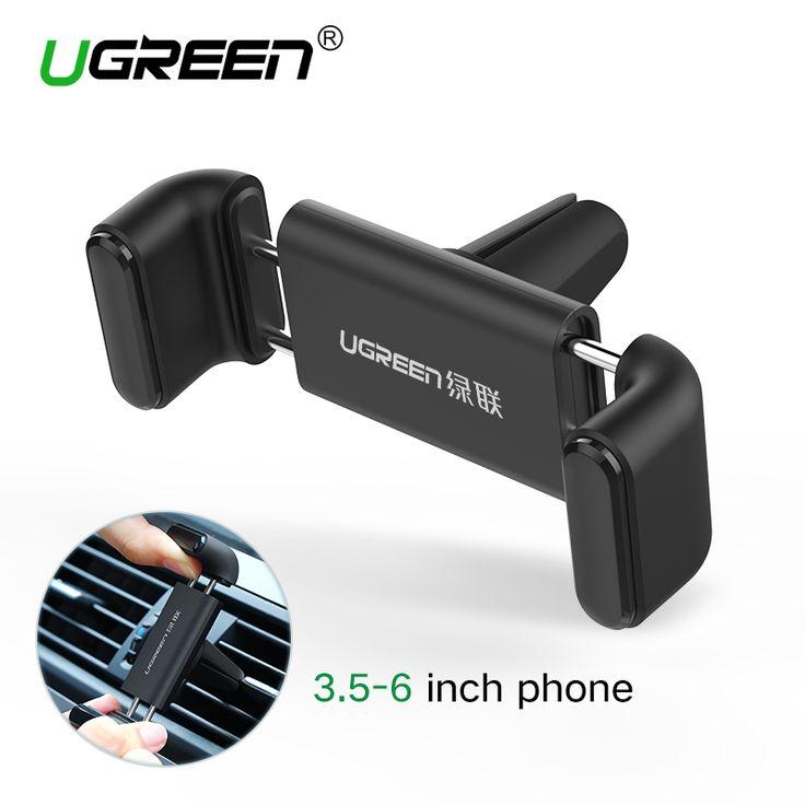 Ugreen auto telefoon houder voor iphone 6 samsung gsm-houder 360 verstelbare ontluchter houder stand auto houder voor iphone 6s 5