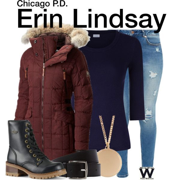 Inspired by Sophia Bush as Erin Lindsay on Chicago PD.