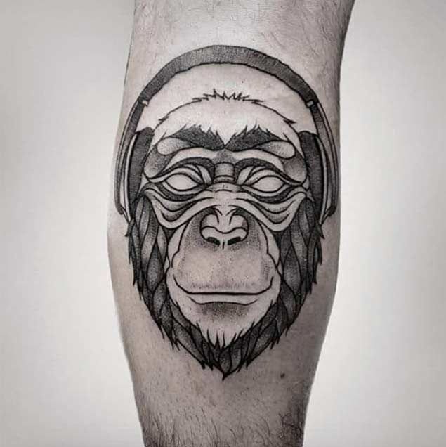 45 Dazzling Dotwork Animal Tattoos - TattooBlend