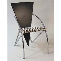 """A chair """"Sitting Sculpture"""", special edition, design Klaus Wettergren, Denmark, Q furniture Copenhag"""