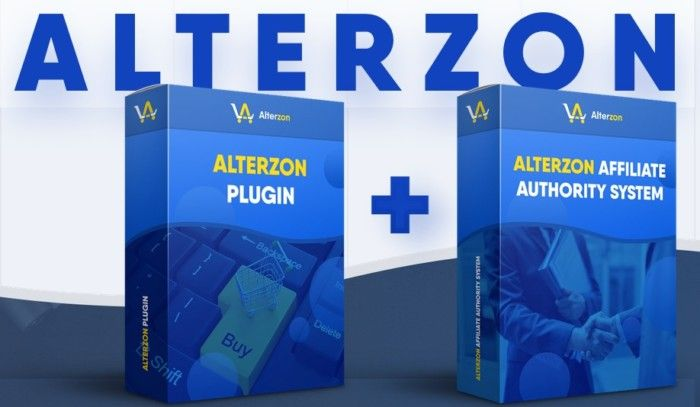 Alterzon Pro Plugin Software And Affiliate Authority System by Ben Murray