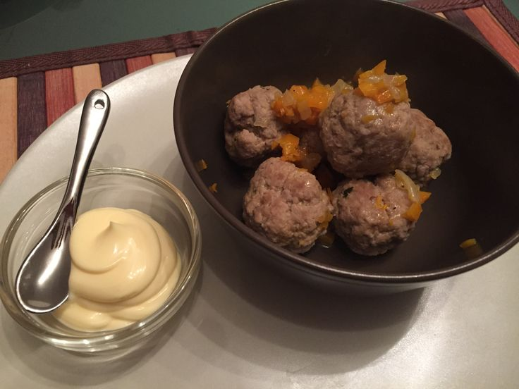 Polpette di manzo con zenzero e menta - ginger and mint meatballs