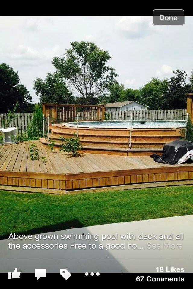 Les 13 meilleures images à propos de Deck piscine sur Pinterest