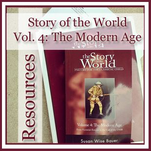 #homeschool #homeschooling Story of the World Volume 4 Resources
