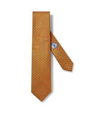 ERMENEGILDO ZEGNA: Cravatta Arancione - 46435062NM