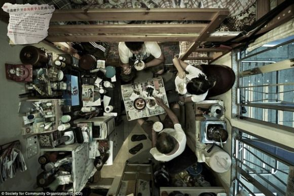 An Inside Look at Low Income Apartments in Hong Kong【Photo ...