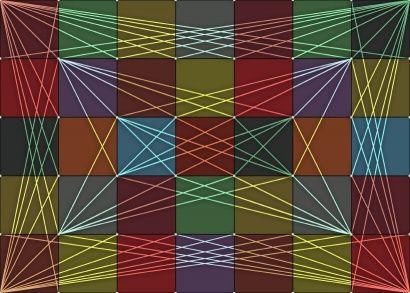 El concepto de fractal es usado principalmente en matemáticas, y más concretamente en geometría, ya que los fractales son figuras geométricas cuyas estructuras se repiten a diferentes escalas. Hay numerosas estructuras matemáticas que se identifican como fractales: la curva de Koch, el triángulo de Sierpinski o el conjunto de Mandelbrot, entre otros muchos, son ejemplos de ello.  https://www.definicionabc.com/ciencia/fractal.php