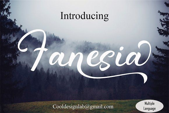 Fanesia script by cooldesignlab on @creativemarket