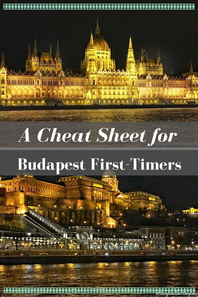 Planning travel to Budapest Hungary? Here's an informative Cheat Sheet for Budapest First-Timers with things to do + Download your FREE copy of the Budapest Cheat Sheet! More