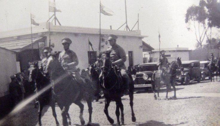 Chilenos retirandose de Tacna en 1929