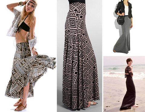 moda | Podemos combinar esta moda de las faldas largas y los maxi ...