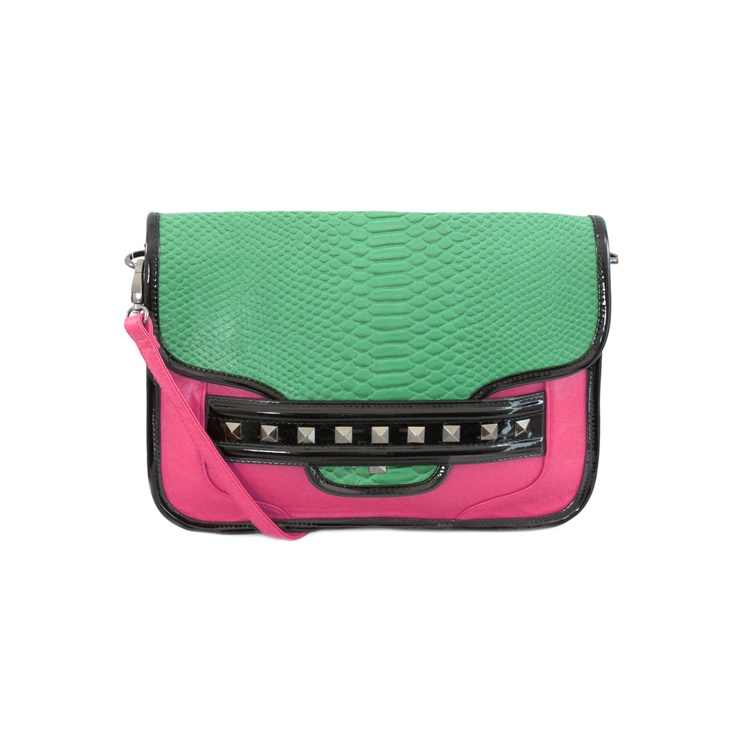 boldEcclectic Style, Anthony Colors, Handbags, Fashionista Vista, Nila Anthony, Block Crossbody, Colors Block, Purses Bags, Pink Gorge
