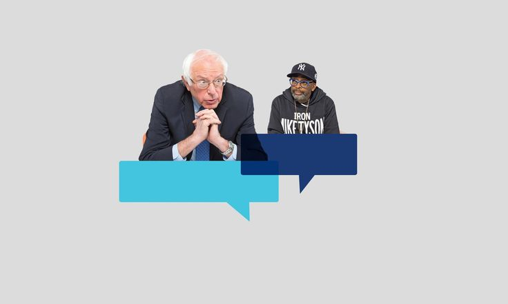 #Media #Oligarchs #MegaBanks vs #Union #Occupy #BLM  Bernie Sanders meets Spike Lee: 'Where do we go? Where is the hope?'  https://www.theguardian.com/lifeandstyle/2016/nov/26/bernie-sanders-spike-lee-conversation-donald-trump-us-politics  The senator and the film-maker discuss Trump, where Clinton went wrong – and how to make a difference in 2017   Bernie Sanders charges head-first into a hotel room in midtown Manhattan, a man with no time to waste. This is not the campaign-era Bernie, the…