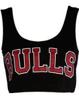 NOUVEAU dames de femmes basketball universitaire BULLS 33 CHEMISE T-shirt américain TOP