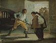 Francisco Jose de Goya y Lucientes  El Maragato and the Friar - a series of 6 paintings