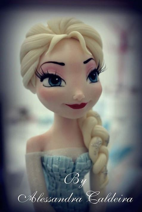 amazing clay sculptures of disney characters!!