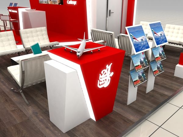 Emirates Aviation College 3in1 Variable Stand by Katalin Ercsényi, via Behance