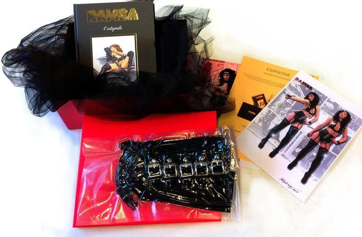 RAMBA BOX 3 !! BOOK and RAMBA GUEPIERE - BUSTINO !! Single Piece