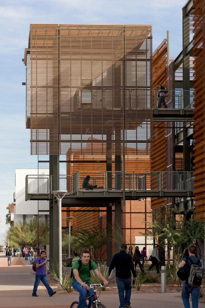 Campus scale design/ ASU Polytechnic Campus / Lake|Flato Architects and RSP Architects