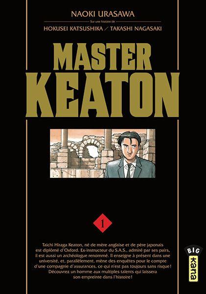Sélection : Seinen_Auteur : Hokusei Katsushika / Takashi Nagasaki_Hiraga Keaton est diplômé de toutes les grandes universités d'Angleterre et est enquêteur pour la plus grande compagnie d'assurance ce comporte de gros risques. Parallèlement, il donne des cours dans une université Japonaise qui se situe en Angleterre. Mr.Keaton a énormément de talents et a beaucoup de contacts. Un manga parsemé d'aventures, d'enquête et de suspens.