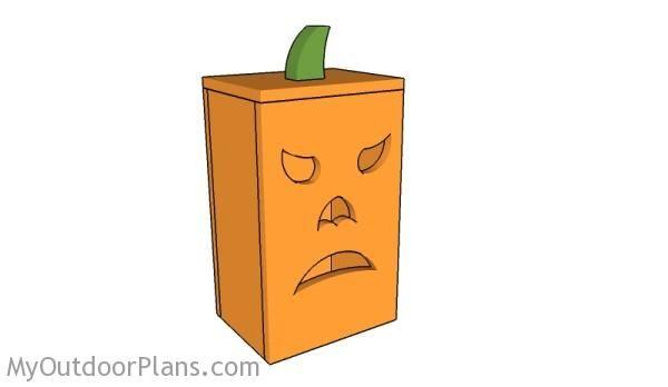 Wood Pumpkin Lantern Plans | Outdoor Furniture Plans ...